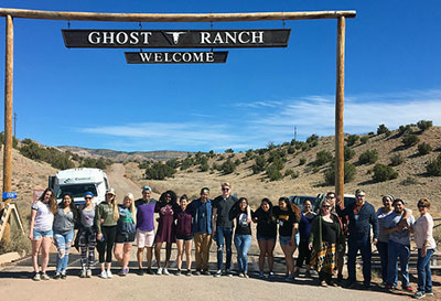 CCC-Grand Island Students at Ghost Ranch