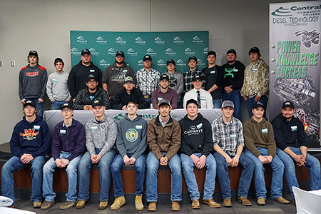 Diesel technology program signing ceremony
