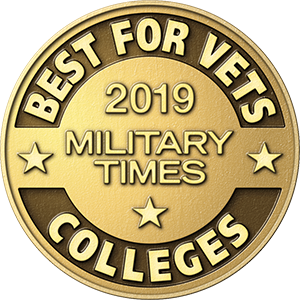 2017 Military Times Best for Vets Colleges award.