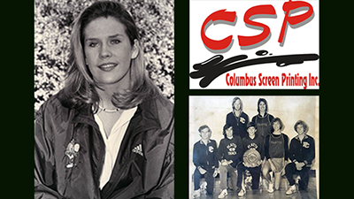 CCC Athletic Hall of Fame Inductees: Monica (Caspar) Chamberlain, Columbus Screen Printing and the 1972 CCC Cross Country Team